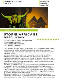 DIABOU N'DAO @ Teatro Le Muse Flero | Flero | Lombardia | Italia