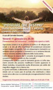 Imparare dal destino @ Waldorf del Garda | Lombardia | Italia