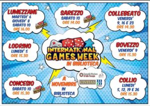 International Games Day - Collio @ Biblioteca Collio | Collio | Lombardia | Italia