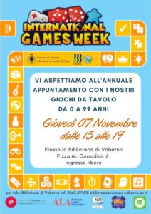 International Games Day - Vobarno @ Biblioteca Vobarno | Vobarno | Lombardia | Italia