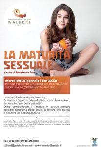 La maturità sessuale @ Villa Giulia Rodengo | Ponte Cingoli | Lombardia | Italia