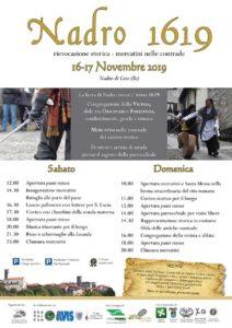 Nadro 1619 rievocazione storica - mercatini nelle contrade @ Nadro di Ceto | Nadro | Lombardia | Italia
