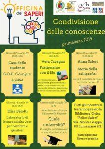 Officina dei saperi @ Biblioteca di Lumezzane | Lumezzane | Lombardia | Italia