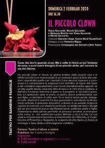 Il piccolo clown @ Teatro San Filippo | Brescia | Lombardia | Italia