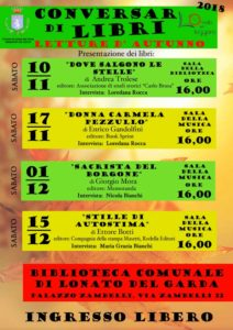 Conversar di libri @ Lonato | Lonato | Lombardia | Italia