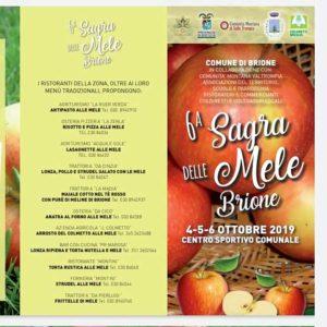 Sagra delle mele di Brione @ Centro sportivo Brione | Brione | Lombardia | Italia