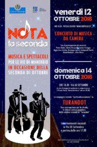 Nota la seconda @ Piccolo Teatro comunale Manerbio | Manerbio | Lombardia | Italia