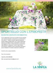 Sportello con l'erborista @ La Ninfea | Lonato | Lombardia | Italia