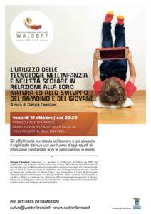 Utilizzo di tecnologie nell'infanzia @ Sala Piamarta, Parrocchia Ss.Faustino e Giovita | Brescia | Lombardia | Italia