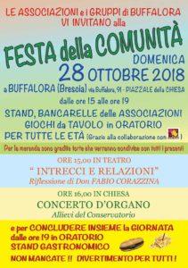 Festa della comunità Buffalora @ Buffalora | Buffalora | Lombardia | Italia