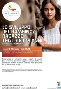 Lo sviluppo del bambino/ragazzo tra i 7 e i 14 anni @ Villa Giulia Rodengo | Ponte Cingoli | Lombardia | Italia