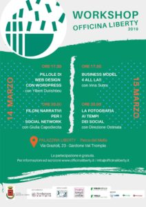 Workshop Officina Liberty @ Palazzina Liberty - Gardone Val Trompia | Gardone Val Trompia | Lombardia | Italia