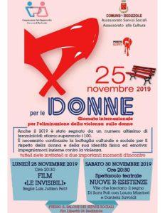 Un solo giorno non basta per contrastare la violenza sulle donne @ Salone servizi Sociali Bedizzole | Lombardia | Italia