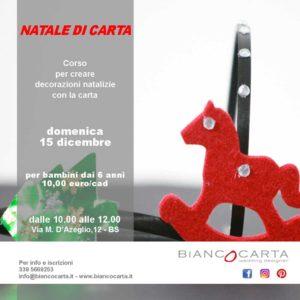 Natale di carta @ Biancocarta – Brescia | Brescia | Lombardia | Italia