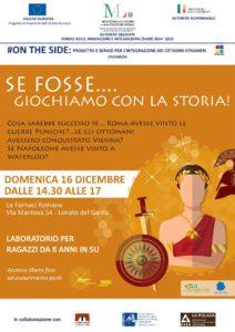 Se fosse... giochiamo con la storia @ Fornaci romane di Lonato | Lombardia | Italia