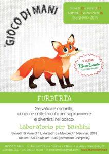 Giocodimani - Laboratorio Furberta @ Officina Creativa Il Nano e la Mela | Gussago | Lombardia | Italia
