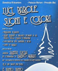 Luci, Parole, Suoni, Colori - Mercatini di Natale a Prevalle @ palazzo Morani del Comune Prevalle | Prevalle | Lombardia | Italia