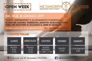 Open week Metamorphosis @ Metamorphosis Studio | Bedizzole | Lombardia | Italia