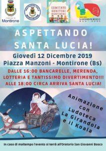Aspettando Santa Lucia @ oratorio Montirone | Montirone | Lombardia | Italia