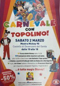 Carnevale con Topolino @ Castello di Desenzano | Desenzano del Garda | Lombardia | Italia