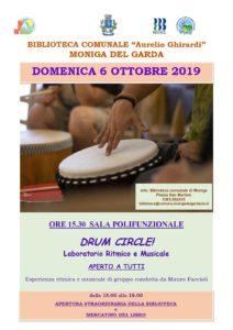 Drum circle - Moniga @ Biblioteca Moniga | Moniga del Garda | Lombardia | Italia