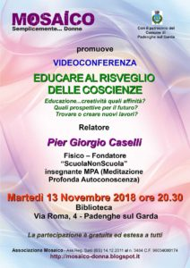 Educare al risveglio delle coscienze @ Biblioteca Padenghe   Padenghe Sul Garda   Italia