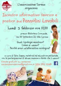 Pannolini lavabili - incontro informativo @ Biblioteca comunale Villa Carcina | Villa Carcina | Lombardia | Italia