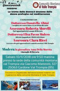 La tratta delle donne @ Sede Comunità Montana di Valle Trompia | Gardone Val Trompia | Lombardia | Italia