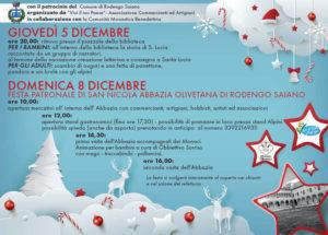 Mercatini in Abbazia @ Abbazia Rodengo Saiano | Rodengo-Saiano | Lombardia | Italia