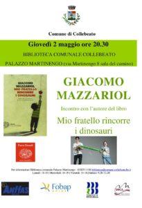 Mio fratello rincorre i dinosauri @ Collebeato - Biblioteca Comunale | Vestone | Lombardia | Italia