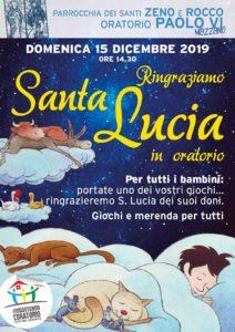 Santa Lucia a Mazzano @ Oratorio Paolo VI Mazzano | Ciliverghe | Lombardia | Italia