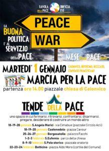 Marcia e tende della PACE @ Brescia e hinterland | Brescia | Lombardia | Italia