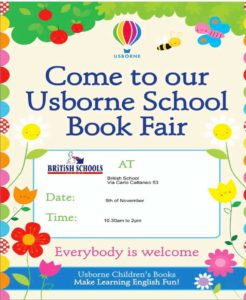 Usborne English book fair @ The British School Of English | Brescia | Lombardia | Italia