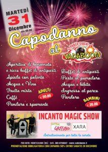 Capodanno al Vadaboom @ Vadaboom | Madonnina, Montichiari | Lombardia | Italia