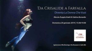 Diventa la donna che vuoi, da Crisalide a farfalla @ Villa Bissiniga -