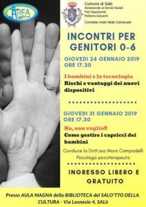 Incontri genitori 0-6 - Salò @ Biblioteca Salò | Salò | Lombardia | Italia