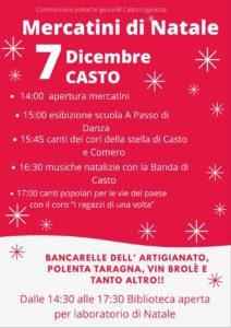 Mercatini di Natale a Casto @ Casto | Casto | Italia