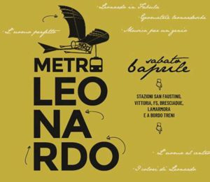 Metro Leonardo @ stazione metro Brescia | Brescia | Lombardia | Italia