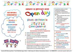 """Open Day scuola dell'infanzia Paderno Franciacorta @ Scuola dell'infanzia paritaria """"Conti Oldofredi Luigi e Maria"""""""