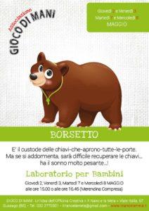 Giocodimani - Laboratorio Borsetto @ Officina Creativa Il Nano e la Mela | Gussago | Lombardia | Italia