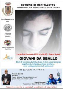 Giovani da sballo @ Teatro Agorà Ospitaletto