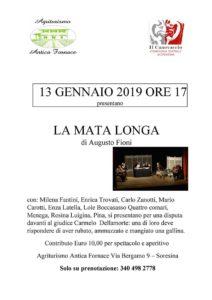 La Mata Longa @  Agriturismo Antica Fornace - CR