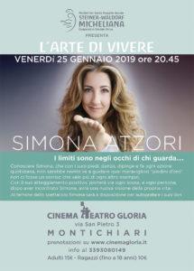 L'arte di vivere - Simona Atzori @ Cinema Teatro Gloria