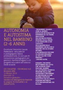 Autonomia e Autostima @ Giocathè | Bovezzo | Italia