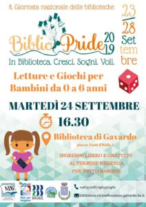 Bibliopride a Gavardo @ Biblioteca Gavardo   Gavardo   Lombardia   Italia