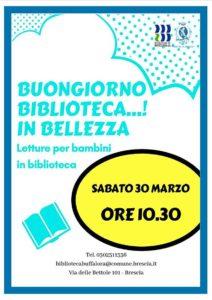 Buongiorno Biblioteca! @ Biblioteca Buffalora | Buffalora | Lombardia | Italia
