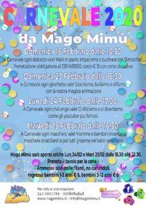 Carnevale da Mago Mimù @ Mago Mimù | San Zeno Naviglio | Lombardia | Italia