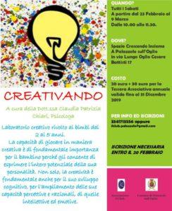 Creativando @ Spazio Crescendo Insieme