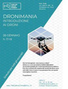 Dronimania con FabLab @ FabLab Vallesabbia | Villanuova Sul Clisi | Lombardia | Italia