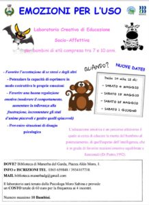 Emozioni per l'uso @ Biblioteca Manerba  | Case Nuove | Lombardia | Italia